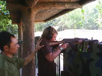 AK47 at the Cu Chi tunnels