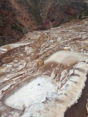 Salt Mines at Maras