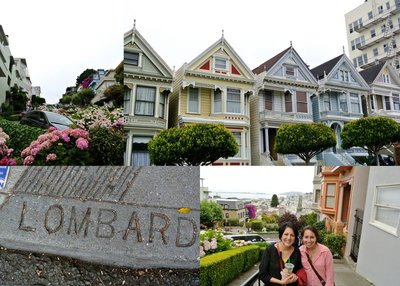 Lombard Street and Painted Ladies