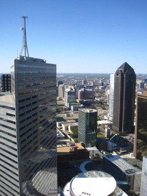 Dallas, du 43ème étage