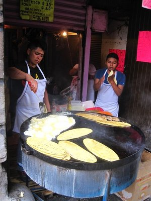 Huaraches à Mexico