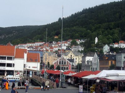 Bergen, Vågen and Fish Market