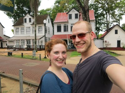 Lisa en Freek in Suriname