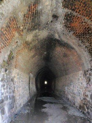 Inside Swan View Tunnel