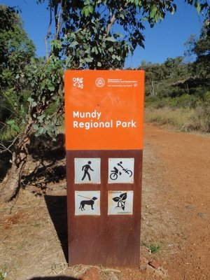 Mundy Regional Park Sign