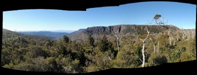 Great Western Tiers Panorama