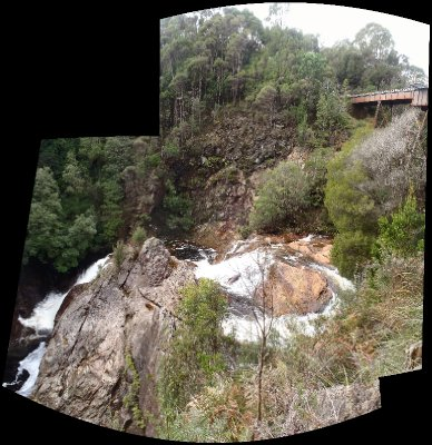 Stitt Falls Panorama
