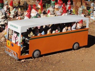 Gnomesville School Bus