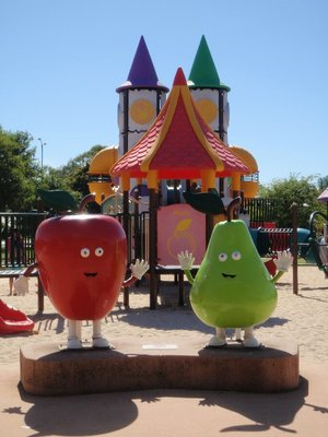 Donnybrook Playground Mascots