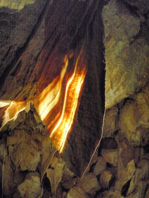 Ngilgi Cave Curtain