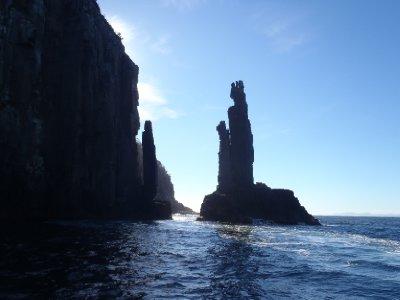 Dolerite columns, Bruny Island