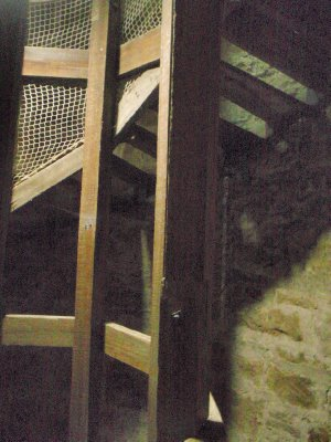Shot Tower steps