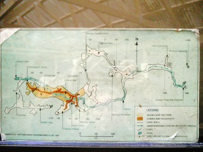 Hastings cave map