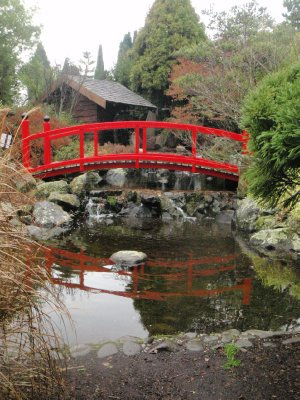 Japanese bridge, Royal Tasmanian Botanical Gardens