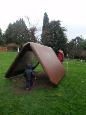 Mirror tent!