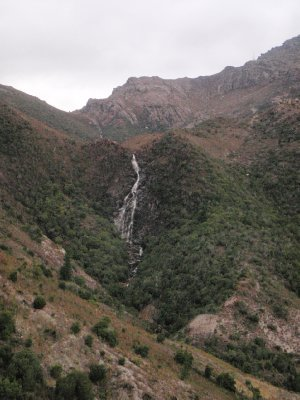 Waterfall near Queenstown, Tas