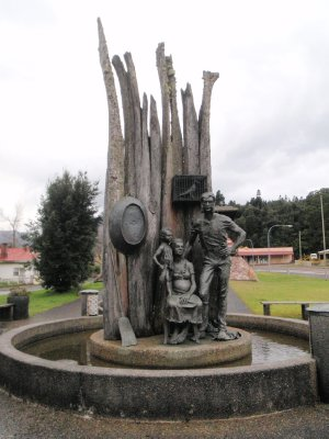 Mining monument