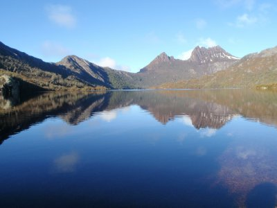 Dove lake, Cradle mountain