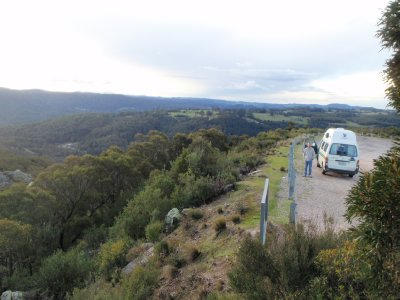 Olivers Road, Lookout near Gowrie Park
