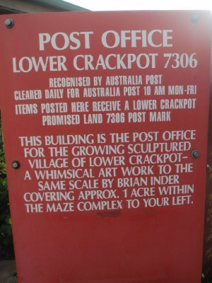 Lower Crackpot post office