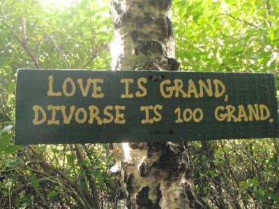 Love is grand, divorce is 100 grand
