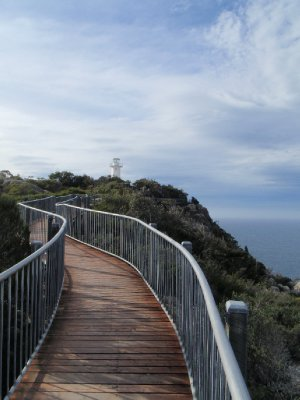 Cape Tourville boardwalk