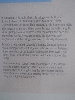 Spiky Bridge History