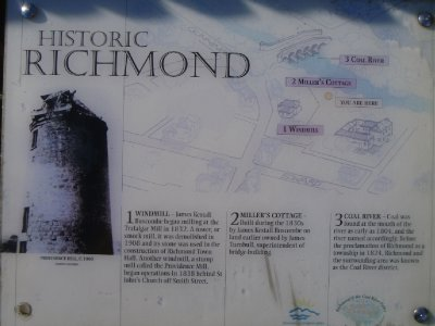 Historic Richmond windmill sign