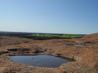 Rock pool on Hyden rock