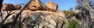 Rocks near Hippo's Yarn