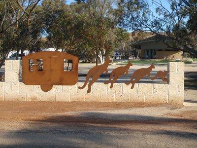 Kangaroo towed caravan