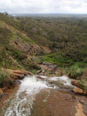 Top of Lesmurdie Falls