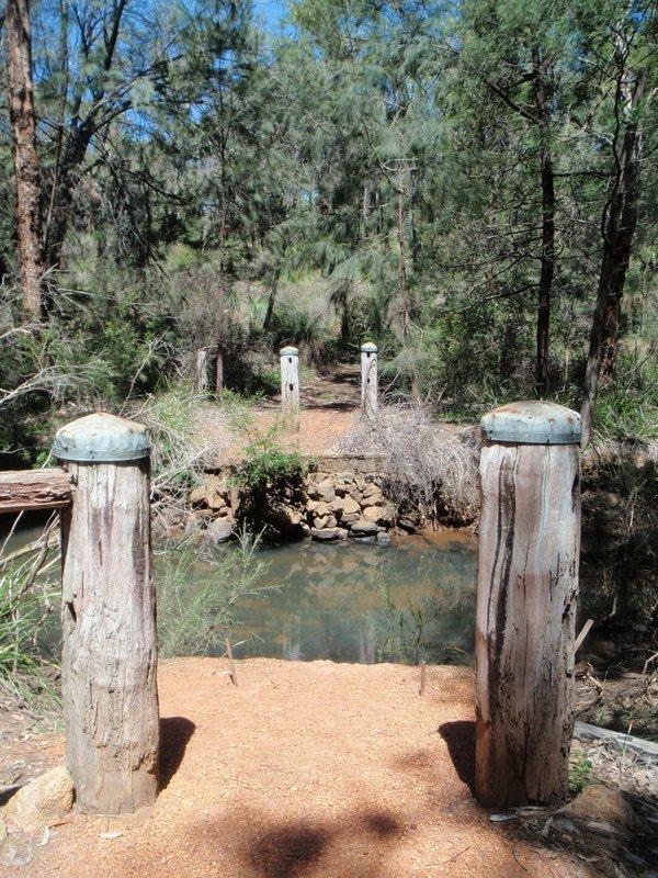 Old bridge site