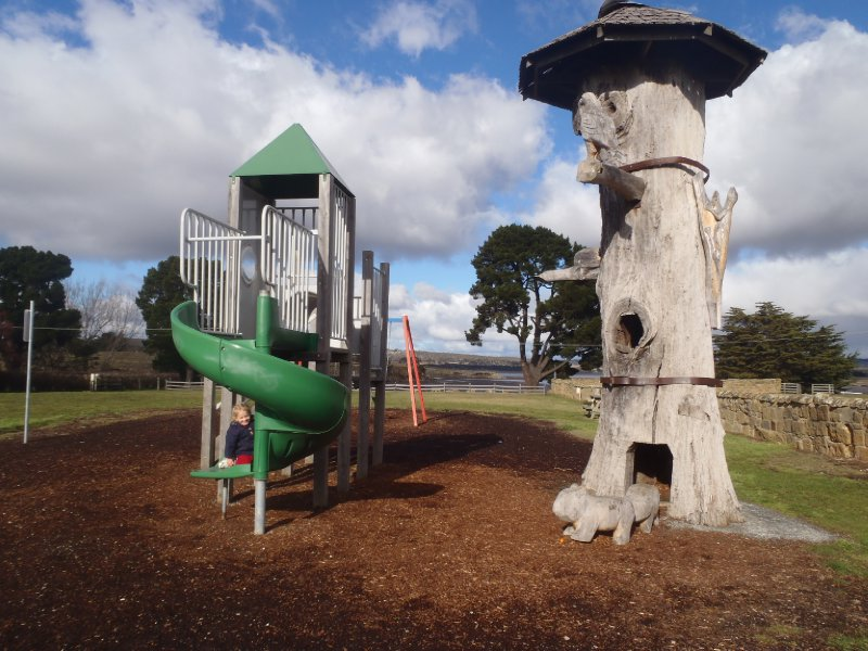 Playground near Callington Mill