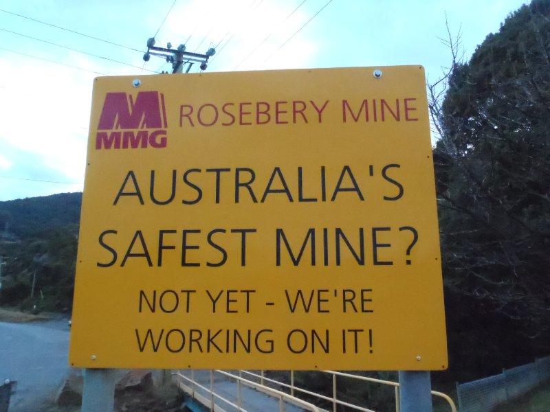 Australia's Safest Mine??