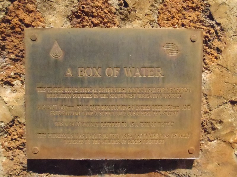 A Box of Water