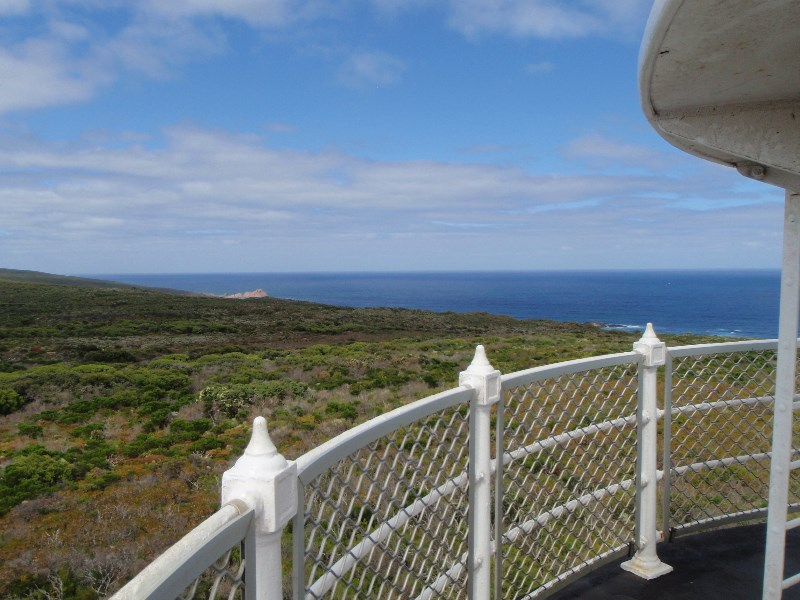 View from lighthouse platform