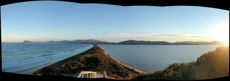 The Neck Panorama, Bruny Island