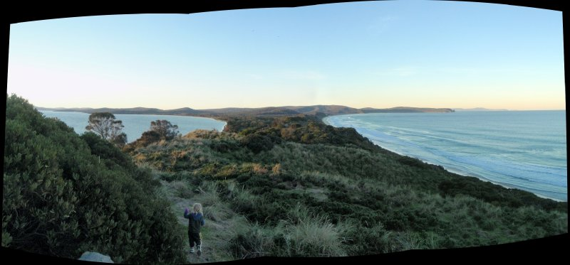 Freedom at the Neck, Bruny Island