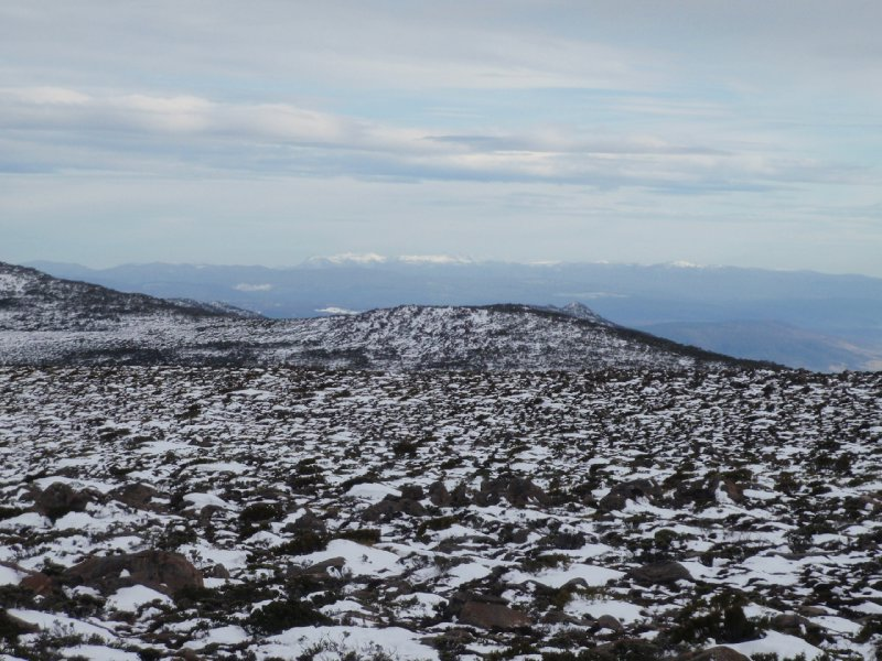 View from the top of Mt Wellington
