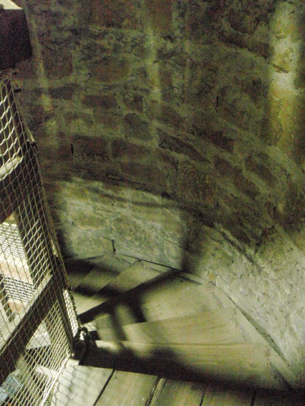 Shot tower steps