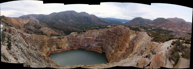 Iron Blow Lookout Panorama
