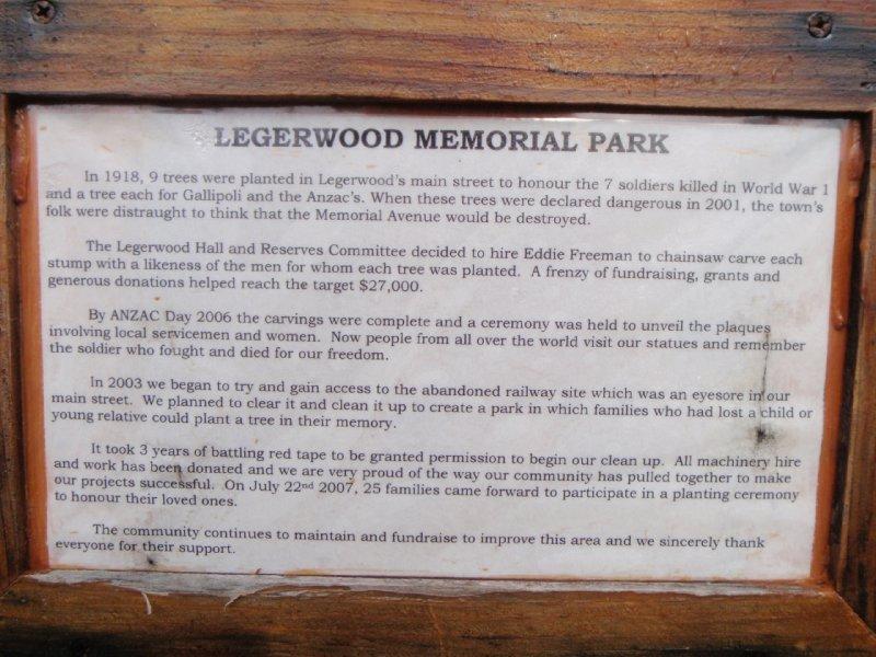 Legerwood Memorial Park