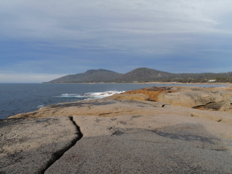 View from Bicheno Blowhole