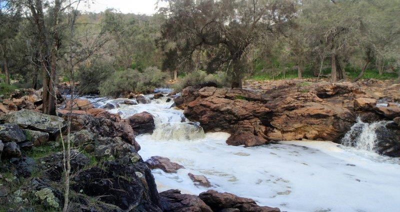 Falls near Syds Rapids