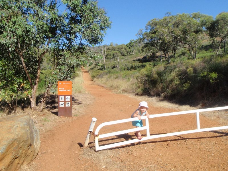 Whistle Pipe Gully, Lewis Rd entrance