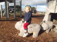Sonia and Wombat, Oatlands