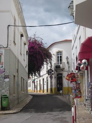 Lagos Portugal - Walking through town.