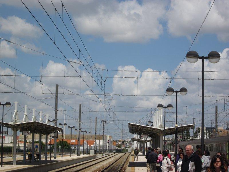 Portugal - Faro Train Station