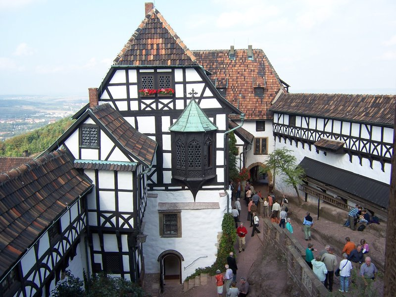 Inside Wartburg Castle